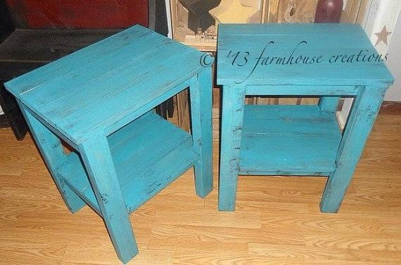 End tables set Country Home Decor by farmhousecreations1