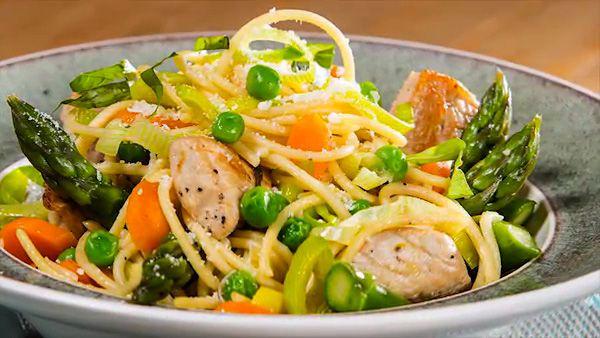 Spring Pasta Primavera with Turkey | Main Dish Recipes - Chicken/Pork ...