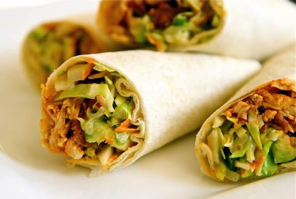 buffalo chicken wraps | Favorite Recipes | Pinterest