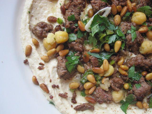 Hummus Kawarma (Lamb) with Lemon Sauce | Yotam Ottolenghi Recipes | P ...