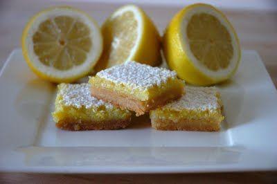 Whole Lemon Bars | Brownies & Bars | Pinterest