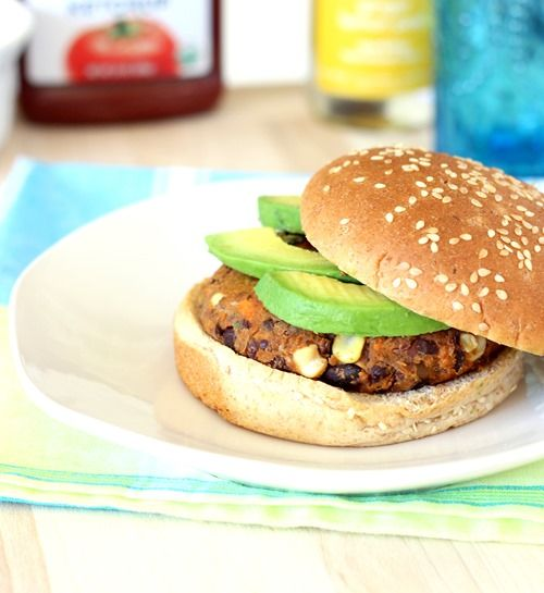 Sweet Potato Black Bean Burgers | yumm? | Pinterest