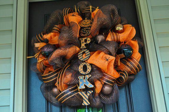 Halloween Wreath, Spider Wreath