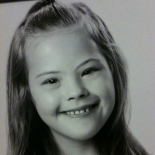 This is my daughter Jaide- she has down syndrome.... And every day she amazes me!