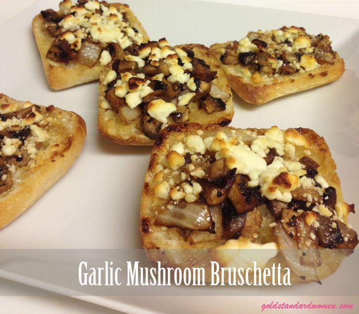 Mushroom Bruschetta Recipe — Dishmaps
