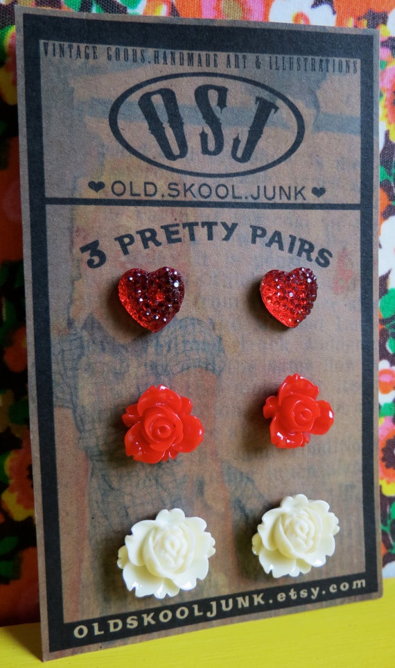 valentine's day earring sale