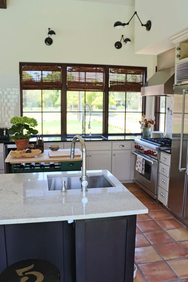 Pin by dusty coyote on kitchens pinterest for Bamboo kitchen cabinets lowes