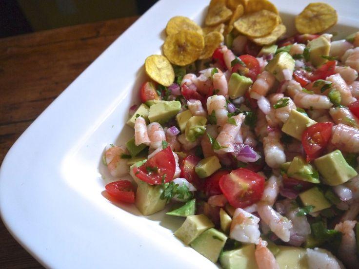 zesty lime shrimp & avocado salad   Food For Thought   Pinterest