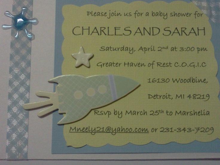 handmade baby shower invitations baby shower pinterest