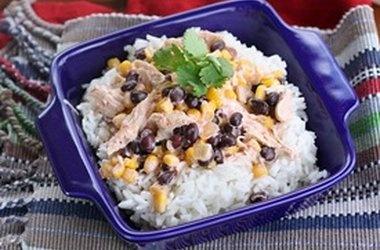 Slow Cooker Fiesta Chicken — Punchfork | Food | Pinterest