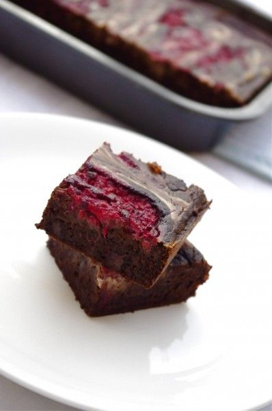 Gluten-Free Raspberry Cheesecake Brownies Recipe — Dishmaps