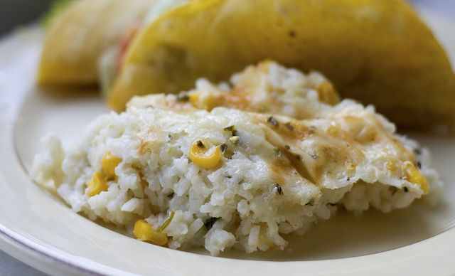 mexican sour cream rice | Recipes | Pinterest