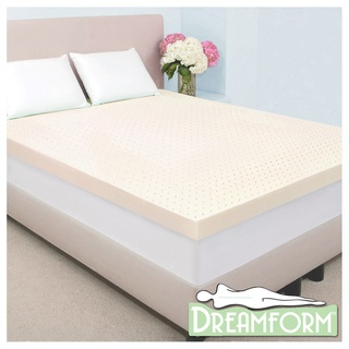 Dream Form Fresh 4 inch Memory Foam Mattress Topper