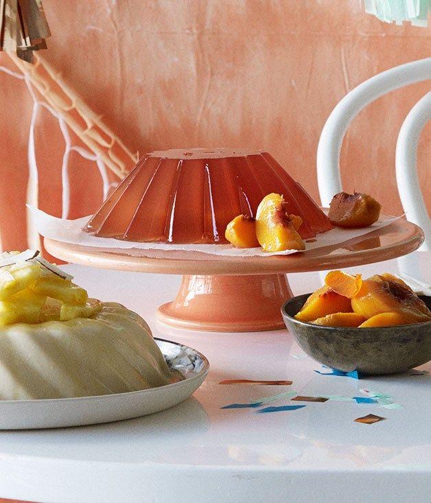 Bellini jelly recipe | Jelly recipe - Gourmet Traveller