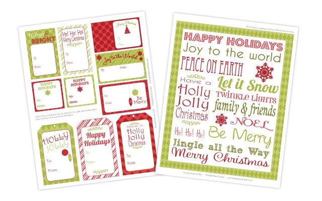Christmas | printables | Pinterest