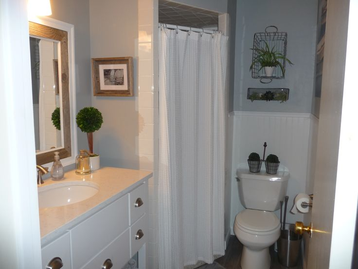 Cottage Style Decor For Small Bathroom