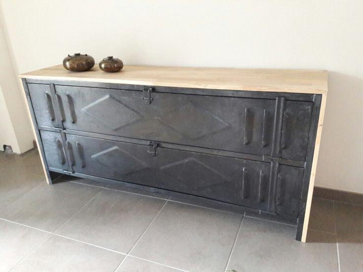 1000 ideas about vestiaire metallique on pinterest meuble tv bois meuble - Meuble tv vestiaire metallique ...