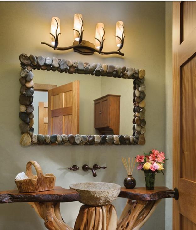 Rustic bathroom ideas bathroom ideas pinterest for Bathroom ideas rustic