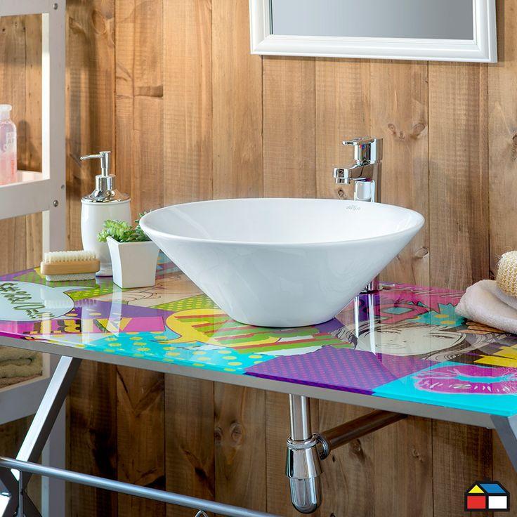 Muebles Para Baño Homecenter:Un escritorio como vanitorio? #Ideas #Proyectos #Baño #Muebles