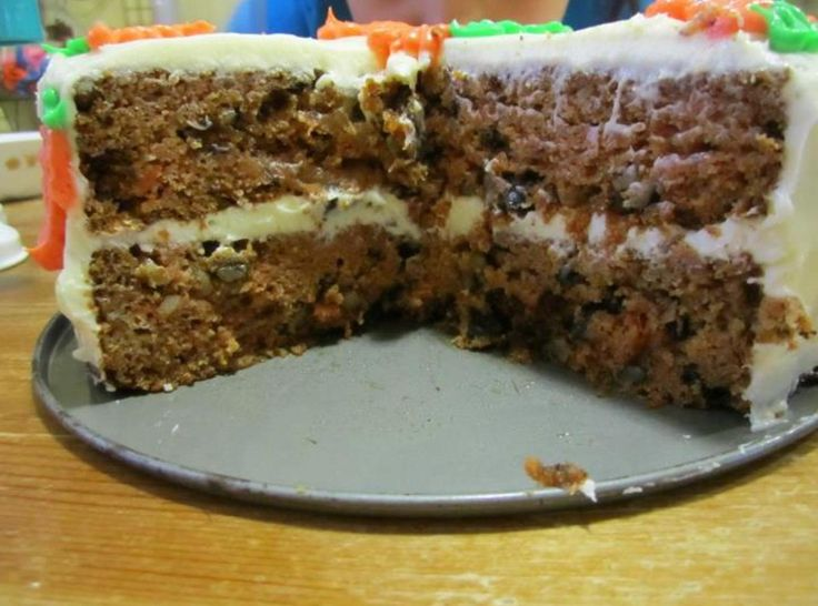 Super moist carrot cake | Recipe