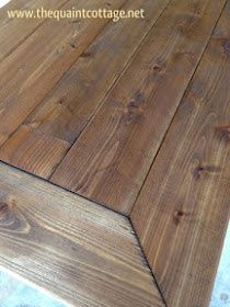 DIY Wood Plank Countertops For Home Pinterest