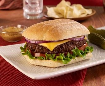 All American Cheese Burger | Burgers & Dogs | Pinterest