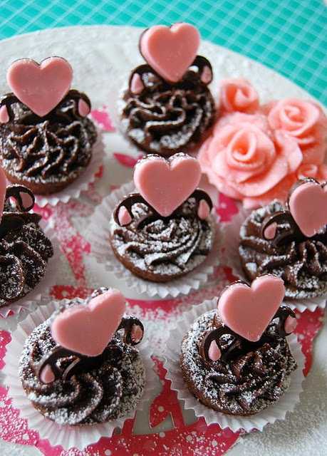 Brownie Bites | Happy Valentines Day | Pinterest