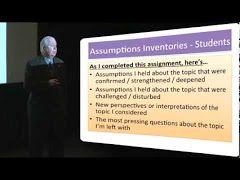 stephen brookfield critical thinking video