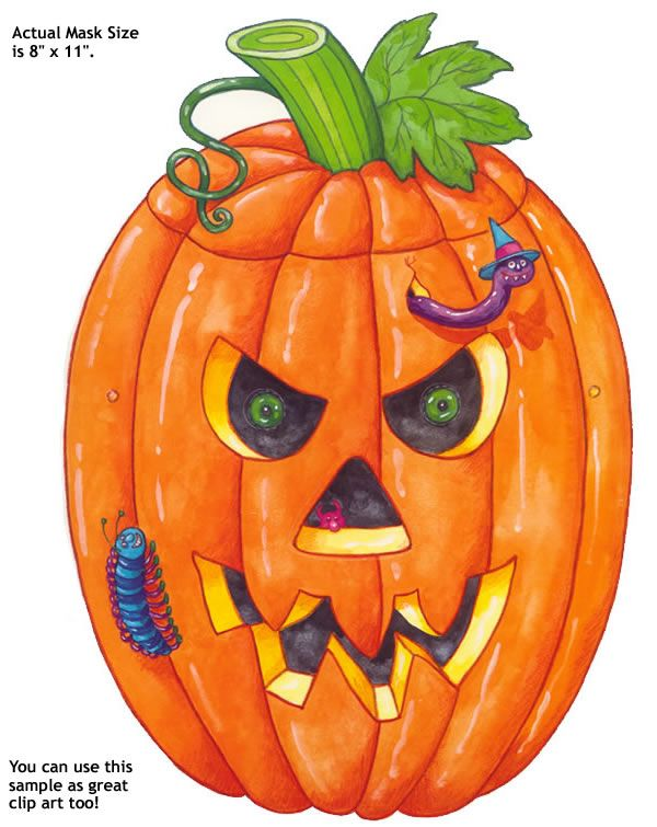 Funny pumpkin clipart the image kid has it for Funny pumpkin drawings
