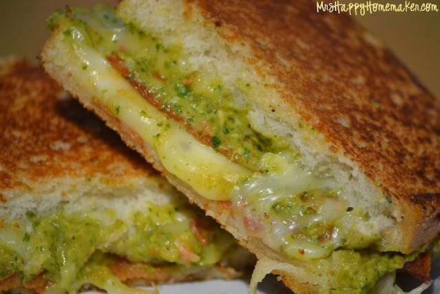 Bacon Guacamole Grilled Cheese Sandwich | Food Ideas | Pinterest