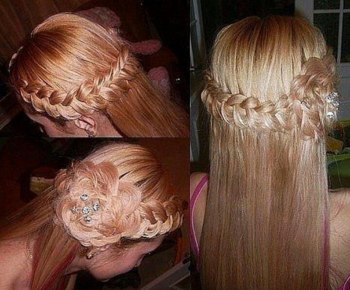 Unique hair styles long hair Hair Designs Pinterest