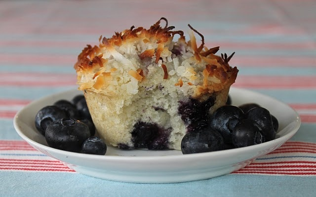 blueberry coconut muffins | 641.52 Biscuits, Scones & Popovers | Pin ...