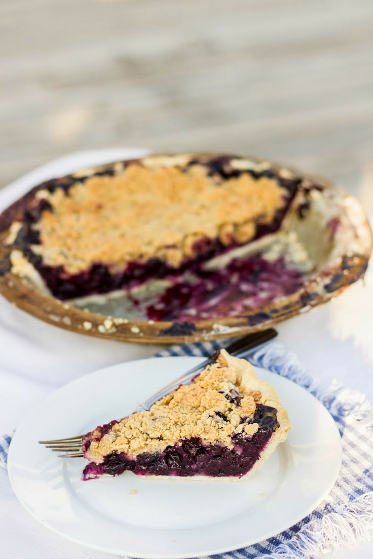 Blueberry Crumble Pie | Kendra's Treats - recipes | Pinterest