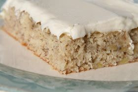 Banana Sheet Cake | Desserts/Sweet Treats | Pinterest