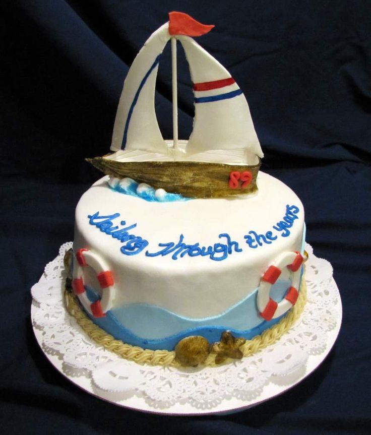 sailboat birthday cake - Google Search Cakes Pinterest