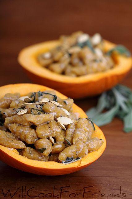 Gluten-Free Pumpkin Gnocchi with Creamy Brown Butter Sage Sauce by ...