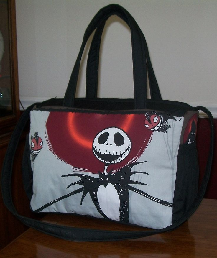 New Diaper Bag custom made to order in Nightmare Before Christmas ...