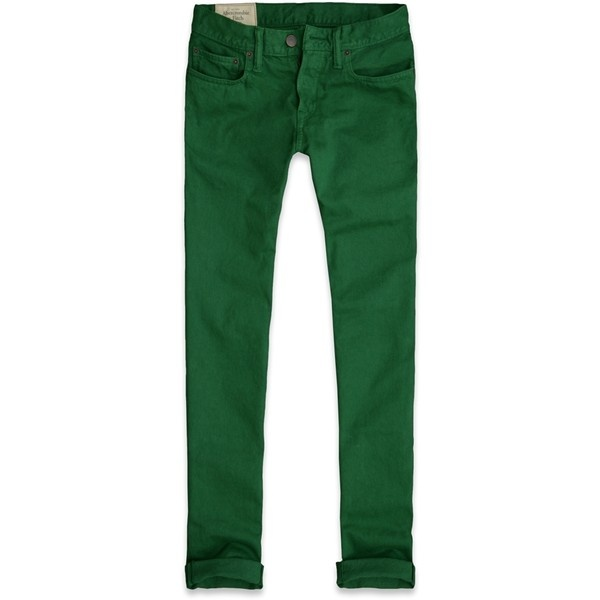 Simple Dark Green Jeans For Men Cars Jeans 2014
