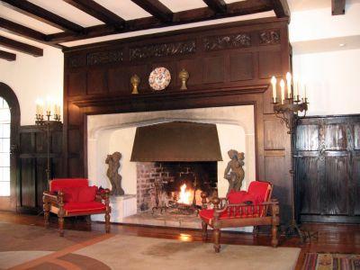 Tudor Fireplace Tudor Arch Fireplaces Pinterest