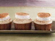 Boozy Bourbon Chocolate Cupcakes Recipe from Betty Crocker