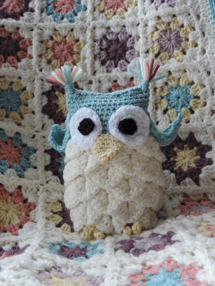 Crochet Stitch Keeper : Crochet owl - craftnotes crocodile stitch crochet owl pattern http ...