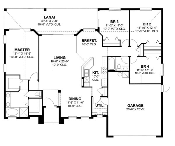 for Florida ranch house plans