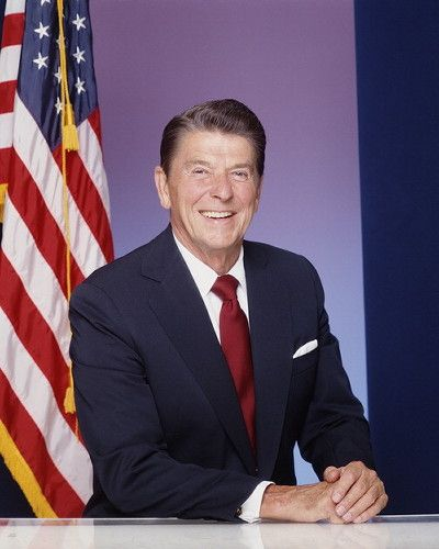 """Ronald Reagan - """"If we ever forget that we are one nation under God, we will be one nation gone under."""""""