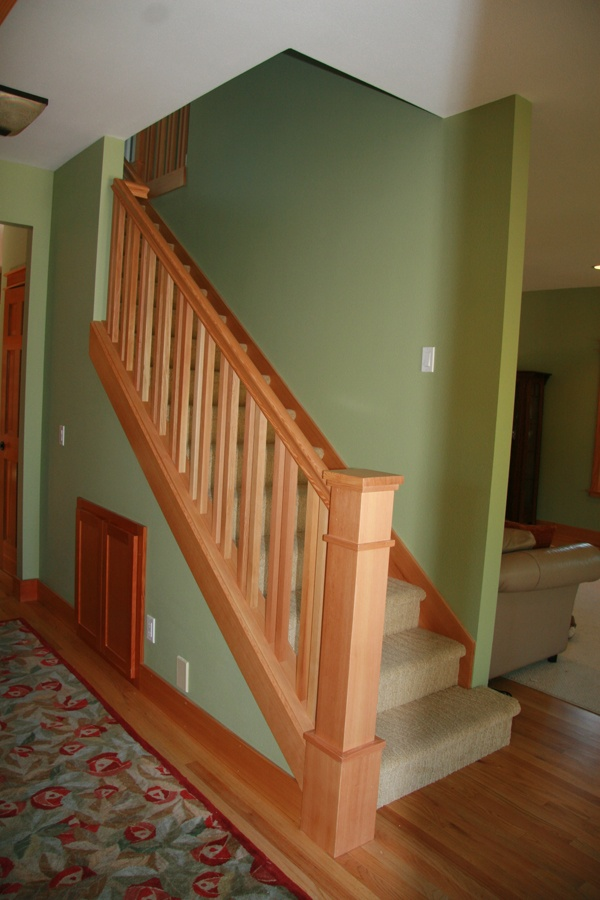 Best Craftsman Style Staircase For The Home Pinterest 400 x 300