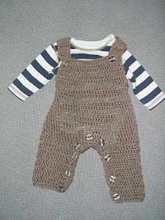 Baby Overalls Crochet Pattern