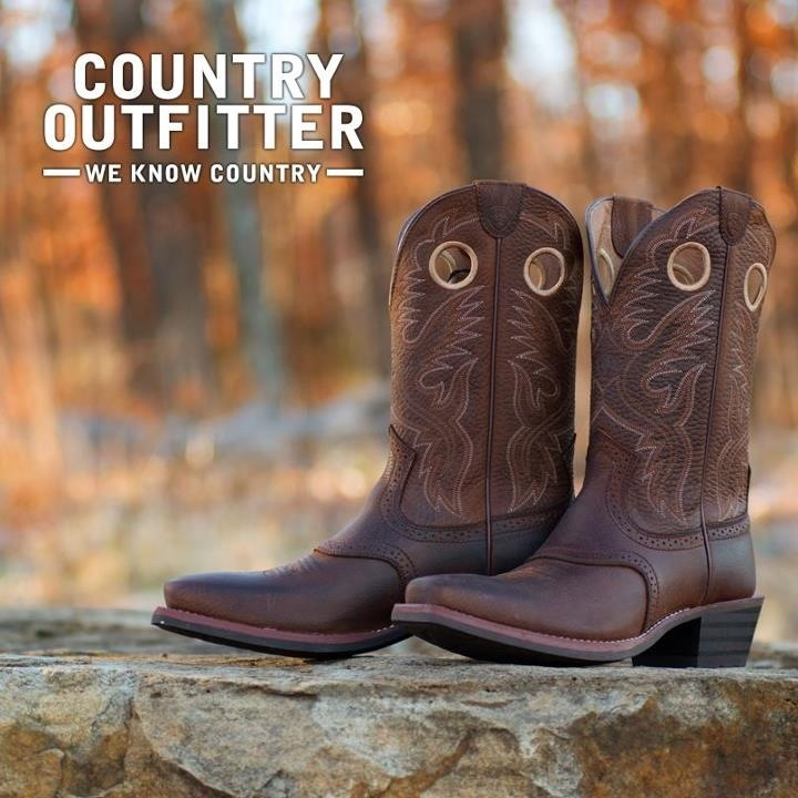 country outfitters ariat mens roughstock square toe boot