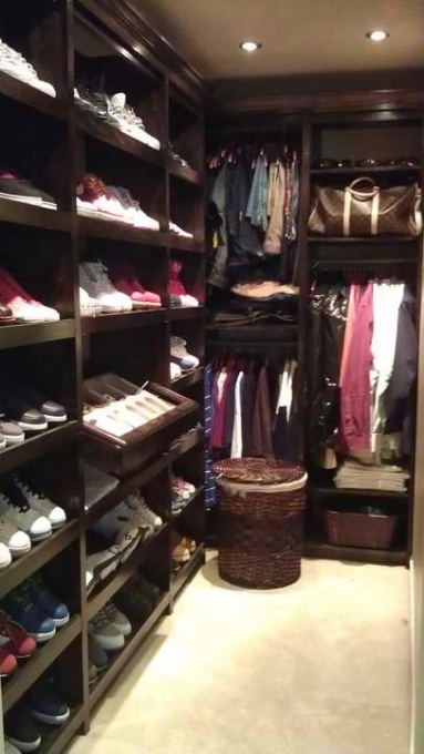 His hers walk in closet home decor pinterest for His and hers closet