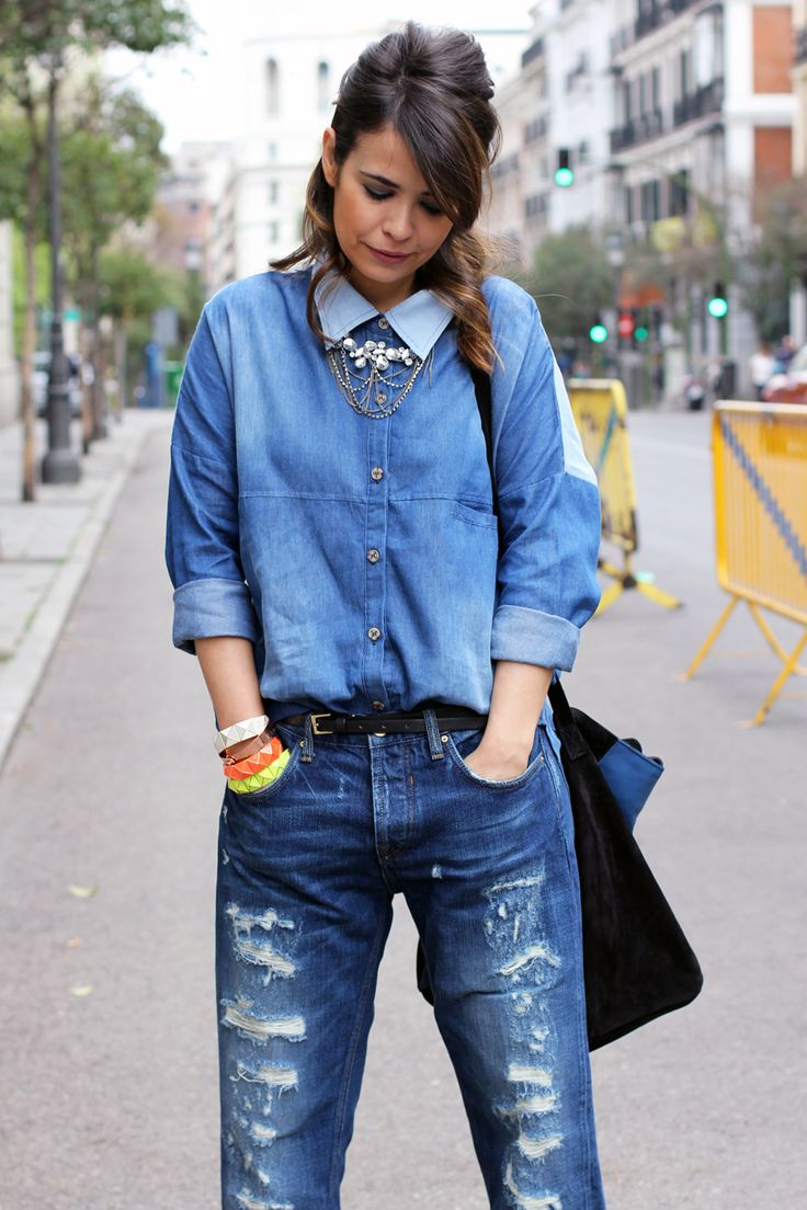 #denim on #denim