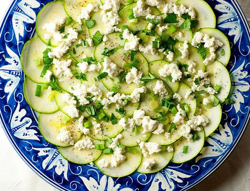 Zucchini Carpaccio   Delicious Food   Pinterest