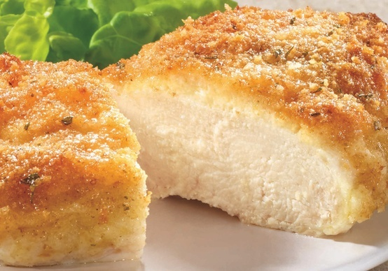 Parmesan crusted chicken | Recipes | Pinterest